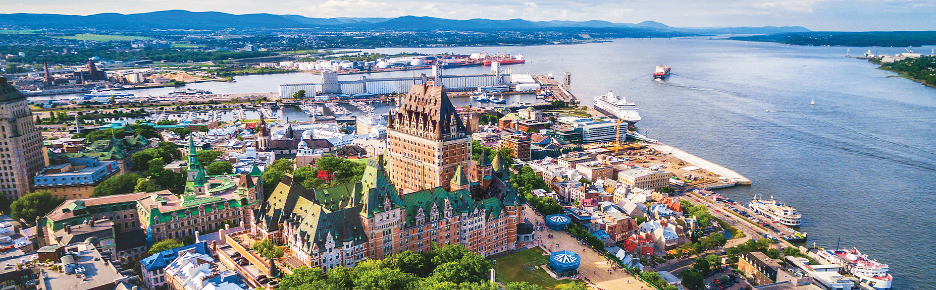 quebec city cruises to and from