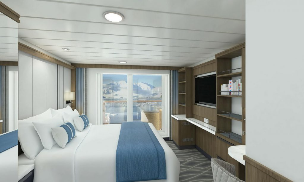 Stateroom With Private Balcony